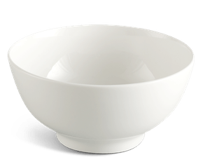 High soup bowl 15 cm - Jasmine LY'S - White Ivory