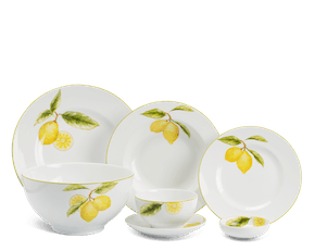 Set of 25 pcs - Camellia - Lemon