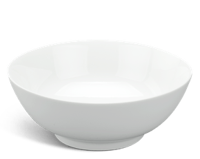 Soup bowl 18 cm - Jasmine - White