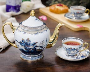 Tea set 1.3 L - Palace - Gold Lotus 2