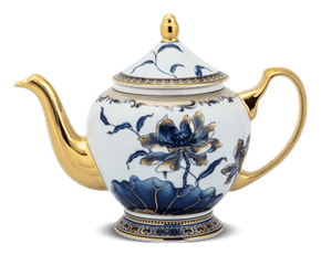 Tea pot 1.3 L + lid - Palace - Gold Lotus 2