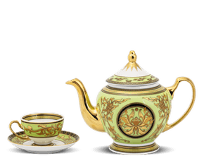 Tea set 0.8 L - Palace - Thien Huong (green)
