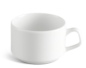 Tea cup 0.10 L - Jasmine LY'S - White Ivory