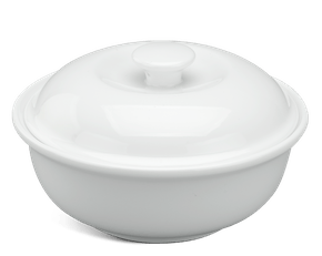 Soup tureen 0.23 L + lid - Daisy White