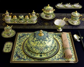 Individual Serving Set for APEC Leaders (29 pcs) - Palace - Royal Lotus