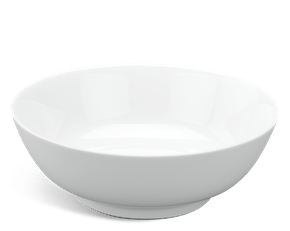 Soup bowl 20 cm - Jasmine - White