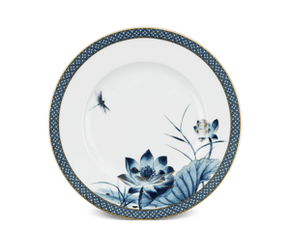 Round plate 20 cm - Palace - Gold Lotus 1