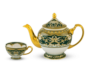 Tea set 1.3 L - Palace - Jade Lotus