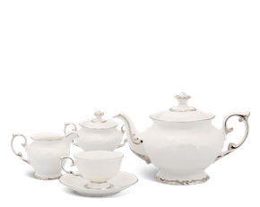 Tea set 1.3 L - Queen - Platinum line