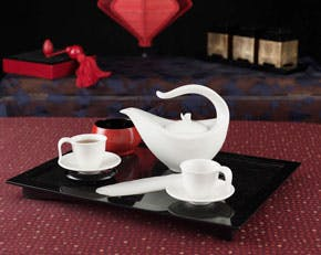 Tea set 0.45 L - Harmony - White Ivory