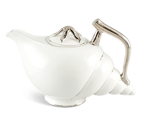 Tea pot 1.2 L + lid - Fish & clam - Platinum line