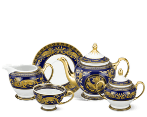Tea set 1.3 L - Palace - King Blue (dragon)