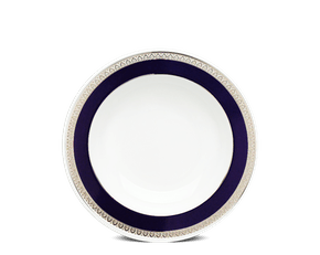 Soup plate 23 cm - Sago - Cycad (blue-emboss)