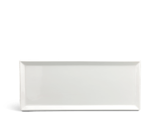 Rectangular tray 50 x 21 cm - Daisy LY'S - White Ivory