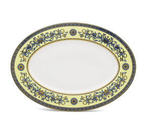 Oval plate 37 cm - Palace - Royal Lotus