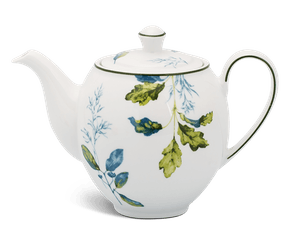 Tea pot 0.8 L + lid - Camellia - Foliage