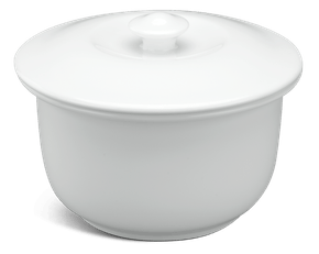 Soup tureen 0.52 L + lid - Daisy White
