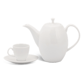 Coffee set 0.47 L - Anna White Ivory