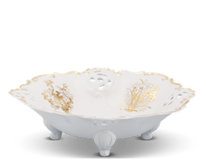 Fruit bowl - Royal - Four precious (gold line)