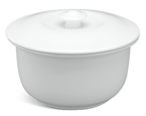 Soup tureen 0.33 L + lid - Daisy White