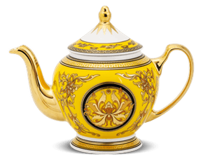 Tea pot 0.8 L + lid - Palace - Thien Huong (yellow)
