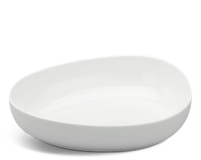 Galet small bowl 21 cm - Gourmet LY'S - White Ivory