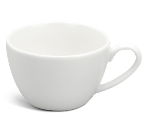 Tea cup 0.10 L - Daisy LY'S - White Ivory