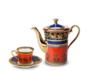 Coffee set 0.8 L - Tulip - Heritage