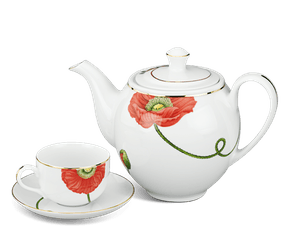 Tea set 0.8 L - Camellia - Eternal love