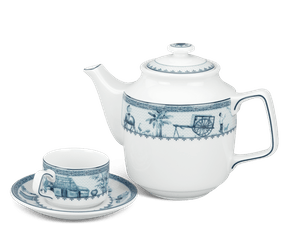 Tea set 0.7 L - Jasmine - Rural side