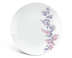 Flat round plate 26 cm - Daisy - Forever