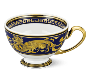 Tea cup 0.20 L - Palace - King Blue (dragon)