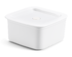 Porcelain Food container with lid 15 x 15 cm