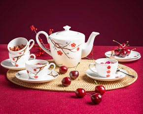 Tea set 0.65 L - Daisy Pink Ochna