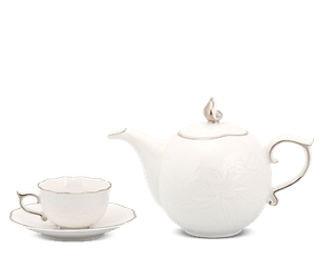 Tea set 0.7 L - Lotus IFP - Platinum line