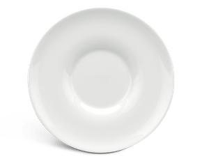Soup cup saucer 17.5 cm - Harmony LY'S - White Ivory